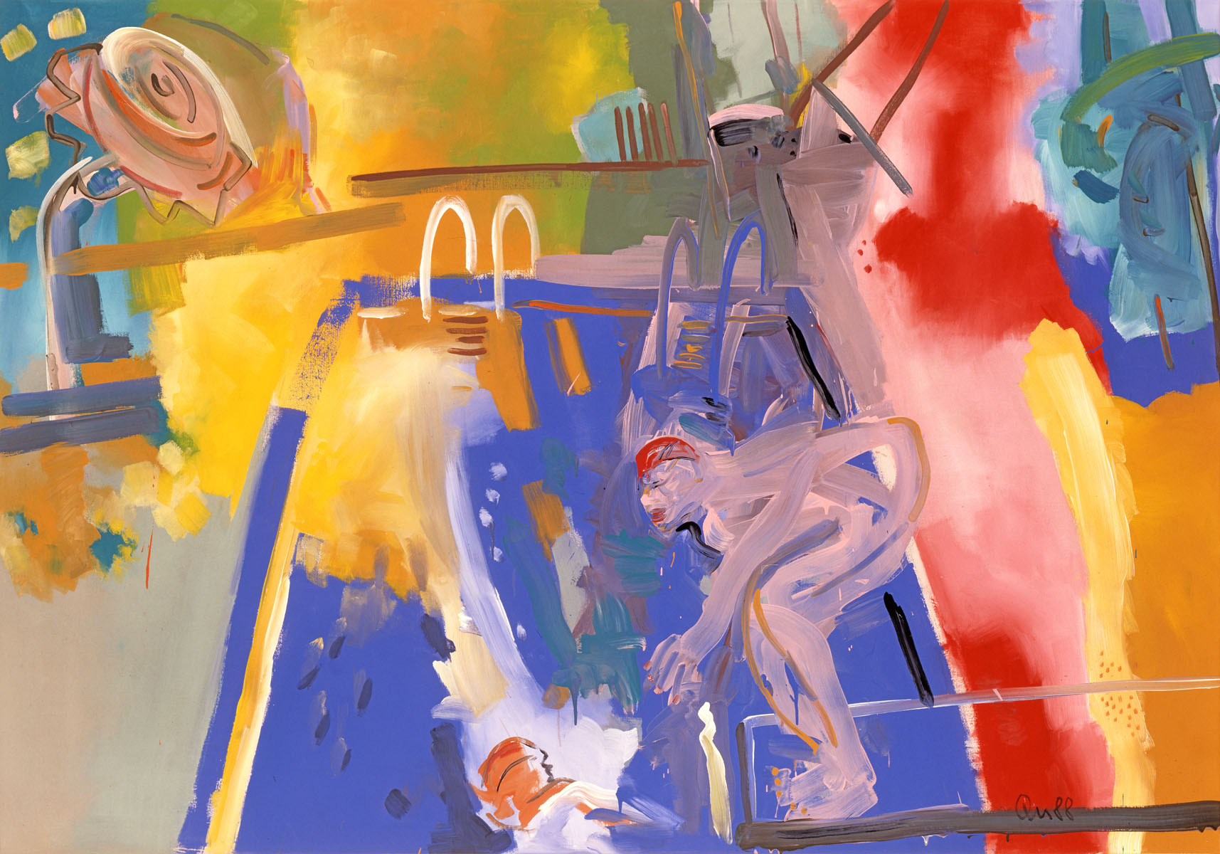 1988-44_heaven-up-and-pool-down_1988_acryl-leinwand_144x206cm