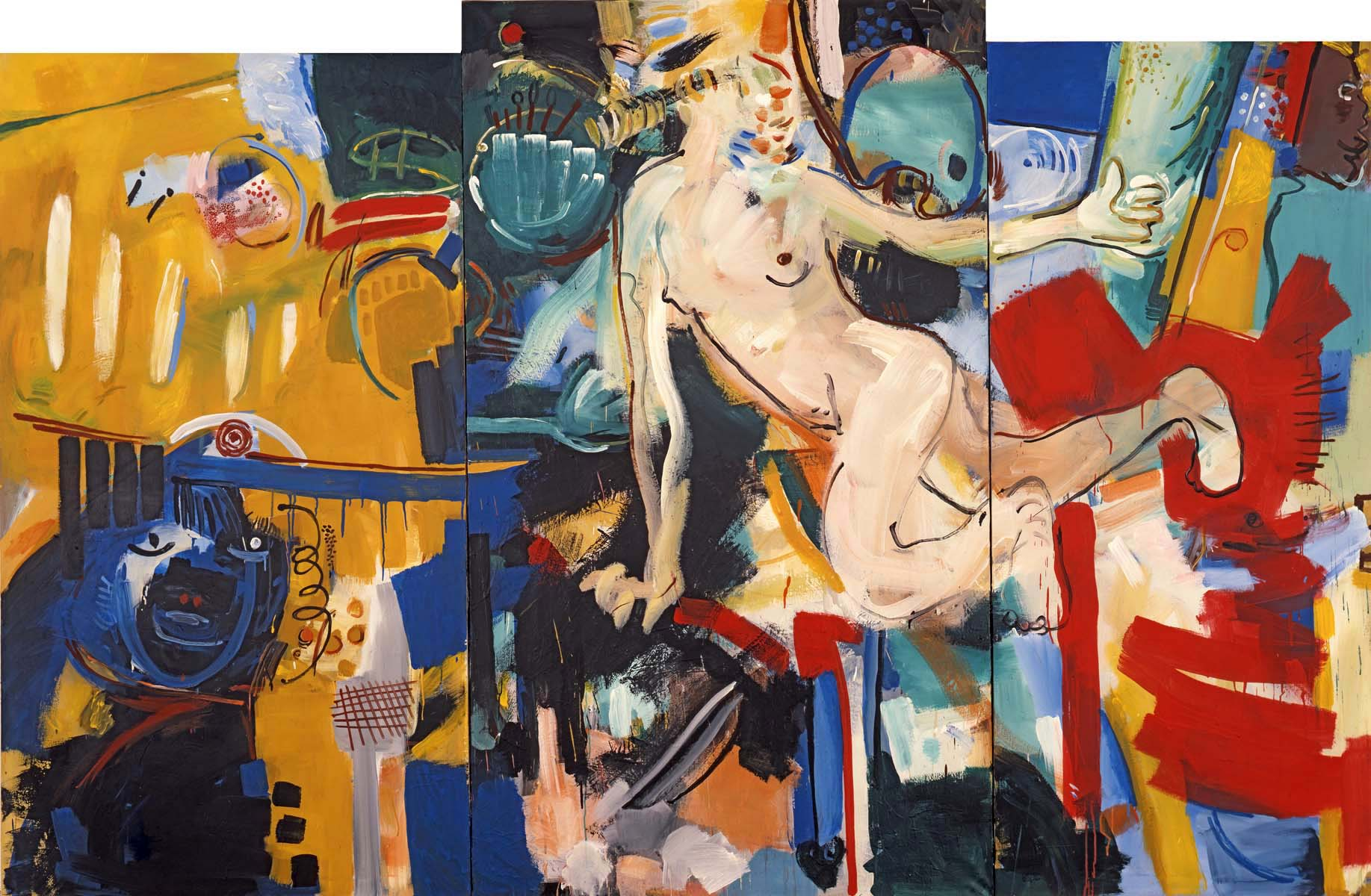 1989-5_bad-better- best_tryptichon_1989_acryl-leinwand_190x300cm